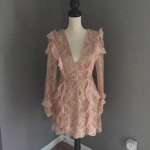FL&L LONG SLEEVE BUMBLE DRESS